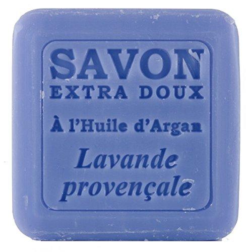 Savon Lavande avec huile d'argan Bio, 100 g - Plantes et Parfums de Provence