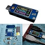 JCCOZ -URG USB-C 3.1Gen2 Tipo-C Amperímetro de voltaje bidireccional Tester Kit de bricolaje URG