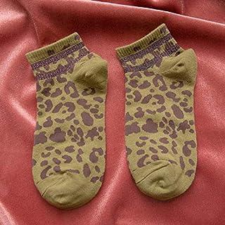 Calcetín de algodón para Mujer Calcetines de Mujer Calcetines de Tobillo a Rayas de 1 par Calcetines de algodón para Mujer Lady