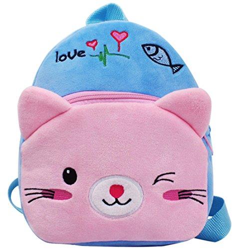 Knuffelige kinderen rugzakken Kids School Schoudertassen Outdoor Casual Daypacks Kitty
