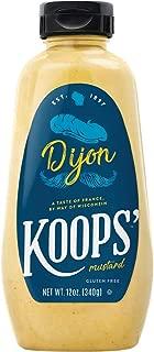 Koops Mustard Dijon Squeeze 12 OZ (Pack of 4)
