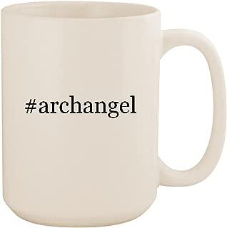 #archangel - White Hashtag 15oz Ceramic Coffee Mug Cup