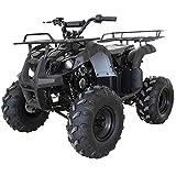 X-PRO ATV for Sale 125cc ATV Quad Youth 4 wheeler ATVs Big Kids Adults ATV Four Wheelers (Black)