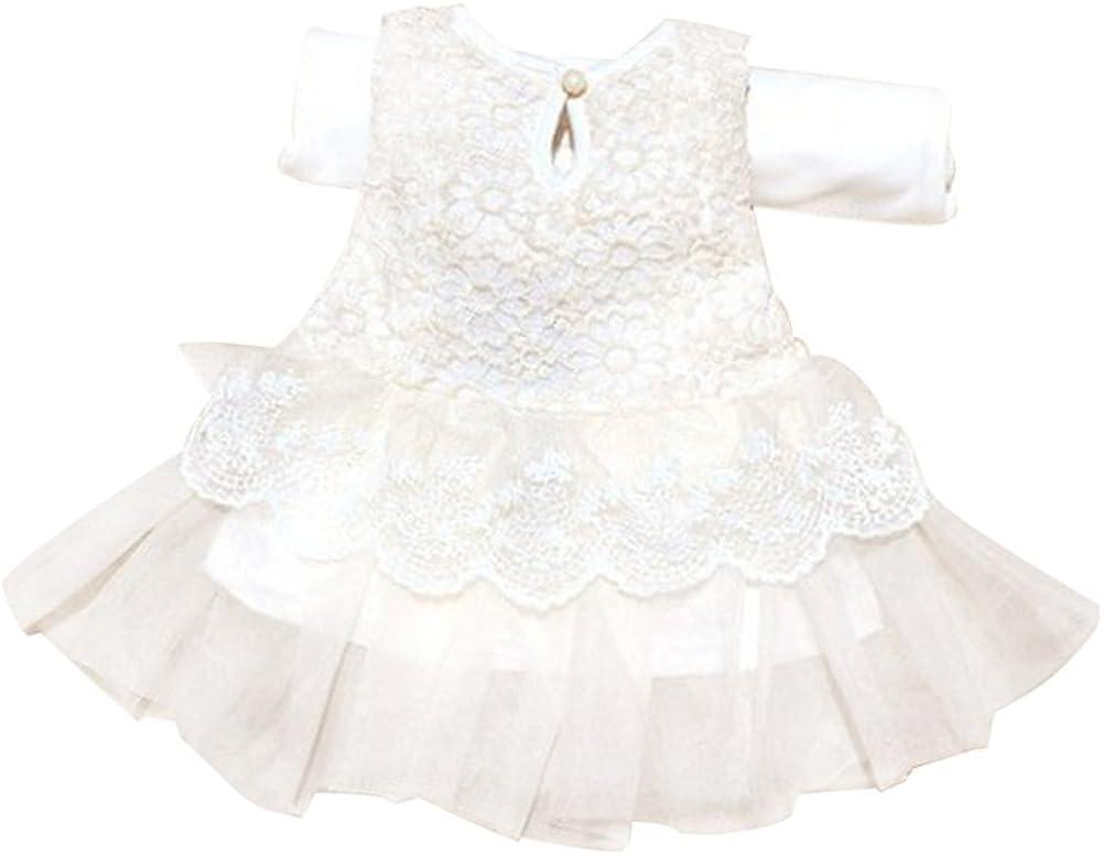 Molil Child Kid Girl Tutu Skirt Big Bow Princess Party Wedding Lace Dress Flower