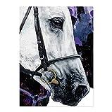 Abstrakte Pferd Malerei Leinwand Malerei Pferd Tier Poster