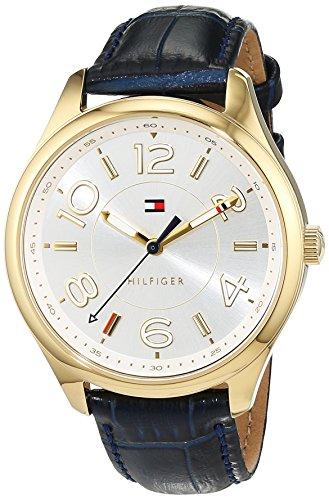 Tommy Hilfiger Reloj Mujer de Analogico con Correa en Cuero 1781675