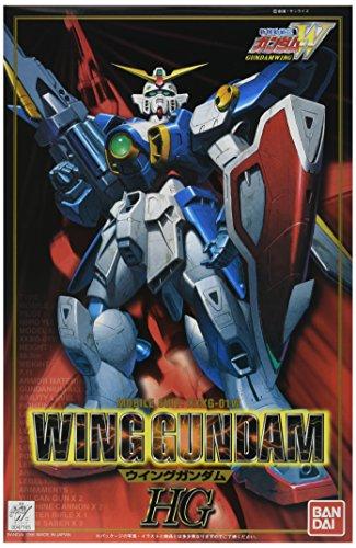 Bandai Hobby #01 1/100 Model W Series Wing High Grade Gundam Action Figure