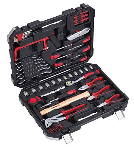Primaster Werkzeugkoffer 81 teilig Werkzeugkasten Werkzeugbox Werkzeugkiste