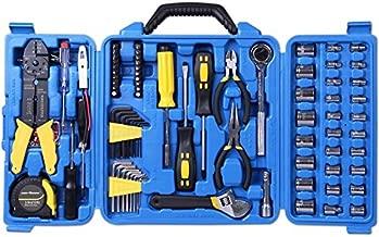 Cartman 122pcs Tool Kit Set, Electric Tool Set, Socket Wrench Sets