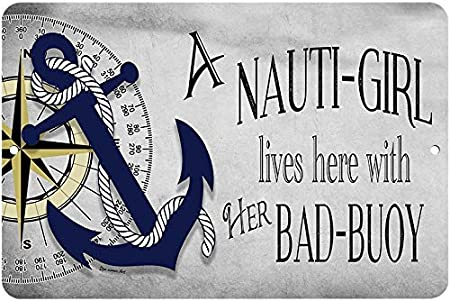 The Stupell Home Decor Collection Nauti Buoy Funny Ocean