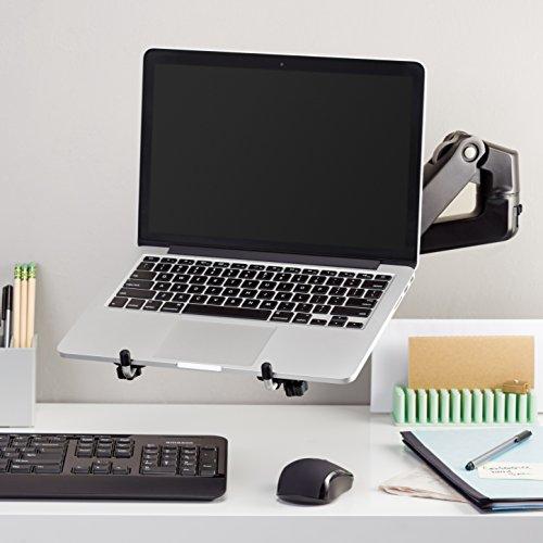 Amazon Basics Montageplatte für Notebook-Halterungsarm