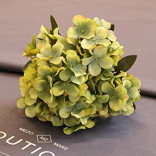WND Hortensia Artificial Flor Novia sosteniendo Flores Boda hogar decoración