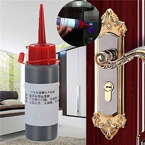Grafiet poeder voor grendels scharnieren glijdende oppervlak Lock smeermiddel voor interieur deurslot