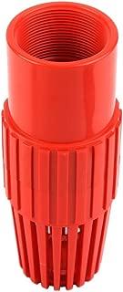 SHYOKO PVC Well Pump Foot Valve 2 inch, Water Pump Accessories, PN16 at 73°F, 2'' NPT Female
