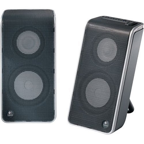 Great Deal! Logitech V20 Notebook Speakers (Black)