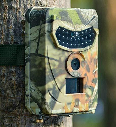 KTYX Hunting Trail Camera Caza Trampa para Juegos 16MP 1080P HD - Espacio Libre A Prueba de Agua Cámara de Caza de Exploración de Vida Silvestre - Trail Camera Visión Nocturna Activada por Movimiento