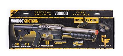 Crosman ASGM47S Voodoo Spring Powered Single Shot Pump Action Shotgun, Smoke, 6.0mm