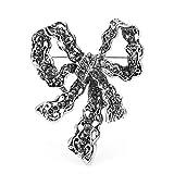 GLKHM Retro Broche Pin Broches Vintage Bowknot Broches De Flores De Metal para Mujer