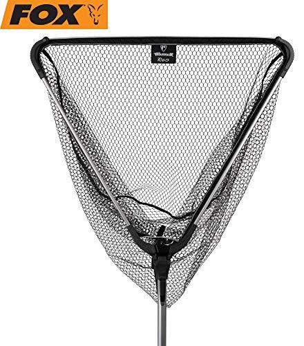 Fox Rage Warrior net 2,10m Raubfischkescher, Kescher zum Raubfischangeln, Unterfangkescher für Raubfische, Fischkescher