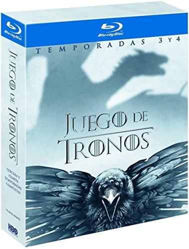 Pack Juego De Tronos Temporada 3-4 Blu Ray [Blu-ray]