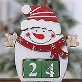 Weihnachtskalender Advent Countdown Weihnachtsmann Kalender Weihnachtsdekor Kalendarz Adwentowy Calendrier Avent Calendario @ 30 (Color : Advent calendar)