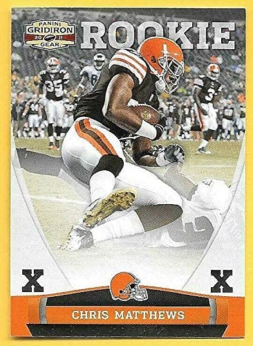 2011 Panini Gridiron Gear Silver Recommended Chris #243 X's Matthews Rookie 67% OFF of fixed price