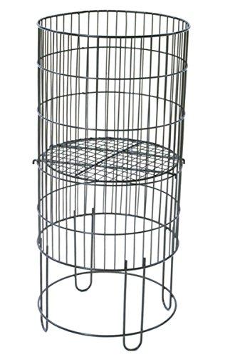 Collapsible Round Dump Bin Display Basket Retail Store Fixture 15' Dia Black NEW