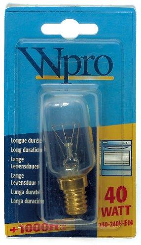 Wpro LFO005 Ampoule Four E14 T29 40 W 230-240 V