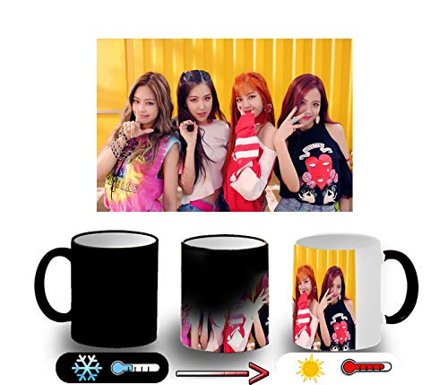 MERCHANDMANIA Taza MÁGICA Blackpink IN Your Area KPOP Magic mug