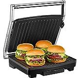 Panini Press, Deik Sandwich Maker with Temperature Control, 4-Slice Extra Large Panini Press Grill, 1500W Non-Stick...