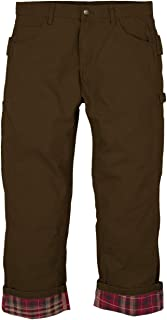 Berne P963 Mens Washed Duck Flannel Lined Carpenter Pant
