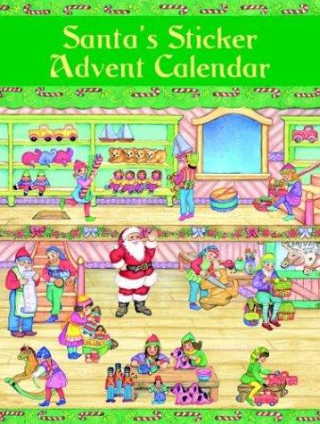 Santa's Sticker Calendar