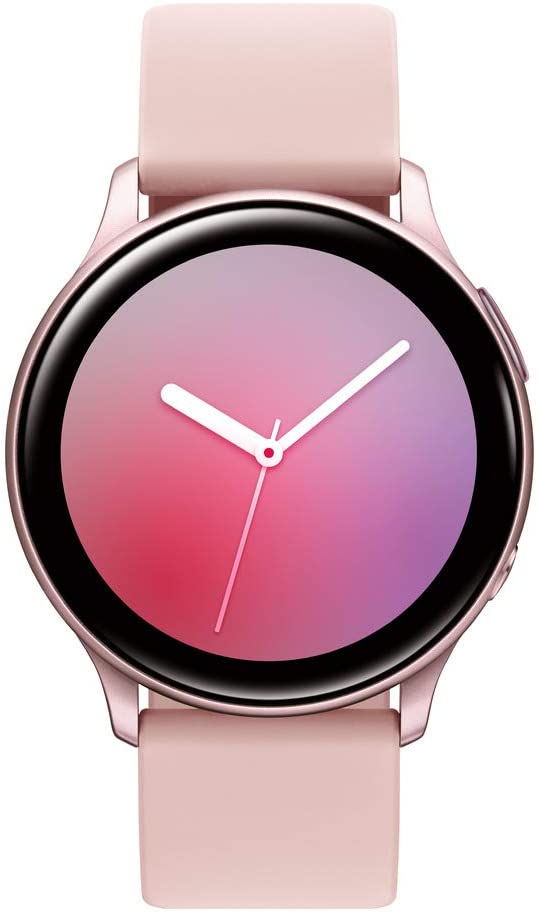Samsung Galaxy Watch Active2 W/ Enhanced Sleep Tracking Analysis, Auto Workout Tracking, and Pace Coaching (44mm, GPS, Bluetooth), Pink Gold - US Version with Warranty