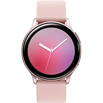 Samsung Galaxy Watch Active 2 (40mm, GPS, Bluetooth) Smart Watch with Advanced Health Monitoring, Fitness Tracking , and Long Lasting Battery - Pink Gold (US Version)