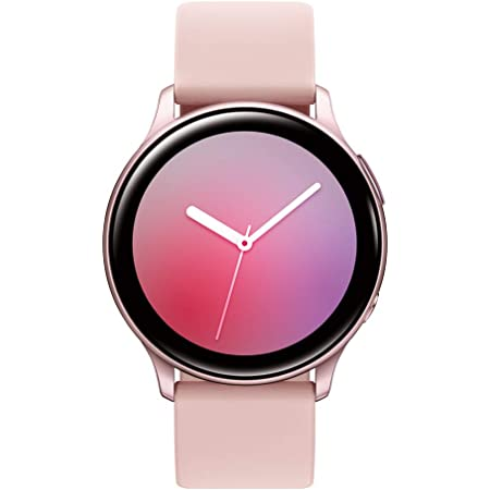 SAMSUNG Galaxy Watch Active 2 (44mm, GPS, Bluetooth) Smart Watch with Advanced Health Monitoring, Fitness Tracking, and Long Lasting Battery, Pink Gold (US Version)