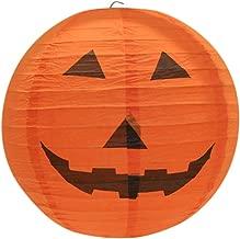 youeneom Halloween Pumpkin Lanterns 3D Jack Jack-O'-Lantern for Halloween Spooky Home Decoration Party Supplies Props7.8''/11.7''/15.6'' (B)