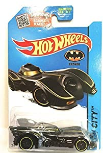 Hot Wheels, 2015 HW City, Batmobile (Batman 1989 Movie) #62/250, 1:64 Scale by Mattel