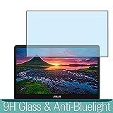 VacFun Filtro Luz Azul Vidrio Templado Protector de Pantalla para ASUS ZenBook Pro UX550VD 15.6' Visible Area, 9H Cristal Screen Protector Anti Blue Light Filter Película(Cobertura no Completa)