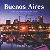 """Buenos Aires 2022 Calendar: From January 2022 to December 2022 - Square Mini Calendar 7x7"""" - Small G..."""