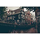 Puzzles Rompecabezas De Madera, Amsterdam Canal-Art DIY Juego De Ocio Diversión Juguete Regalo Adecuado Familia Amigos, 500/1000/1500/2000/3000 Piezas 0706 (Color : B, Size : 3000 Pieces)