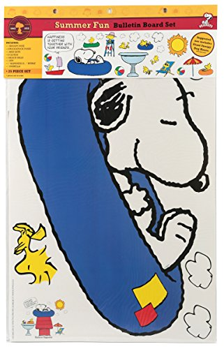 Eureka Peanuts Summer Fun Bulletin Board Sets (847688)