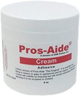 Pros-Aide Cream Adhesive 6 Oz. Jar - Official Product of ADM tronics