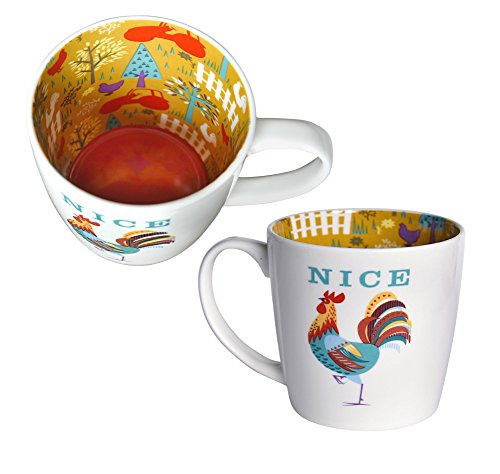 MasTazas del Reves Inside out F Taza Ceramica