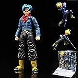 Dragon Ball Super Future Trunks Figuras de acción Juguete móvil 150 mm Anime Dragon Ball Z Trunks Super Saiyan Figurilla Figuras de acción