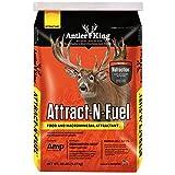 Antler King Attract-N-Fuel Deer Attractant   20 lb Bag 40% Pellet/60% Protein-Based Deer Feed For Maximum Body & Antler Growth