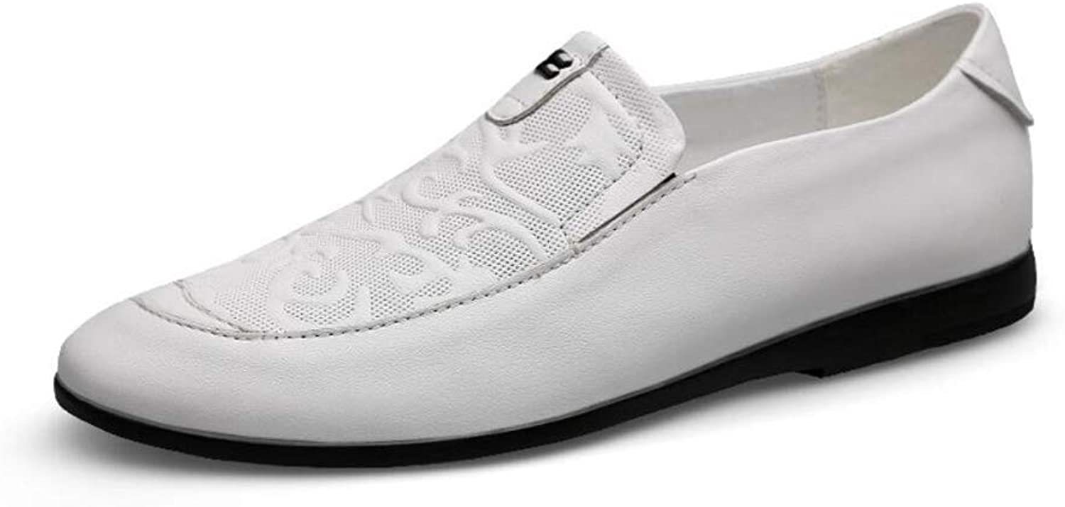 Mens Loafers - Italian Dress Casual Loafers for Men - Slip-on Driving shoes - Low to Help Business shoes