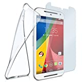 MoEx® silicone cover for Motorola Moto G2 | + armoured