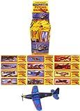 Guilty Gadgets 12 x Planeador Volador Planes Bolsa de Fiesta Rellenos Juguetes Premios de Juego Niños