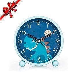 5. KOROTUS COLLECTION Dinosaur Night Light and Alarm Clock