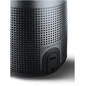 Bose SoundLink Revolve, tragbarer Bluetooth - Lautsprecher (mit kabellosem 360°-Surround-Sound), Schwarz